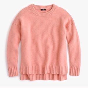 J. Crew Alpaca Blend Sweater Supersoft Yarns Pink